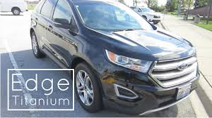 Ford Edge Safety Rating 2016 Ford Edge Titanium Awd Rental Car Review And Test Drive
