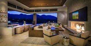 Interior Design Palm Desert by Custom Home Palm Desert Indoor Outdoor Living Contemporary
