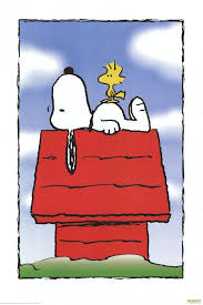 snoopy on his dog house http www posterplanet net animation images peanuts