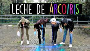 Challenge Reto Milk Rainbow Challenge Reto Leche De Arcoiris Ft Kika Nieto
