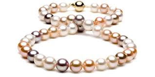 colored pearl necklace images Color gem grade freshwater pearl necklace 9 5 10 0mm jpg&a