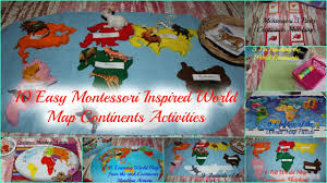World Map For Kids 10 Simple World Map Continents Activities For Kids Geography