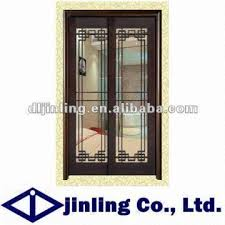 classic wooden bedroom decorative sliding door grill design