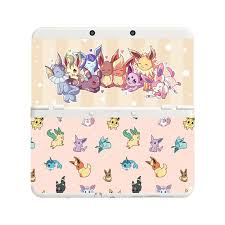 amazon black friday 3ds without plates custom printed pokemon eevee eeveelutions new nintendo 3ds