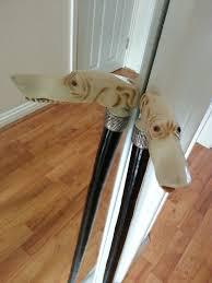 Ebay Laminate Flooring Antique Long Nosed Dog Walking Stick Cane Ebay Antique