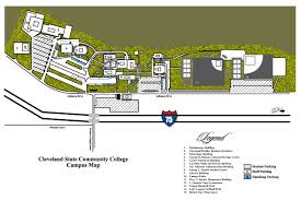 Dixie State University Map Cleveland State Community College