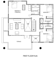 apartments home plams bedroom apartment house plans ranch home ghana house plans adzo plan modern home first large size