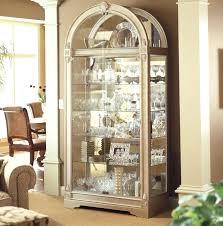 curio cabinet light bulbs curio cabinets with lights pnashty com