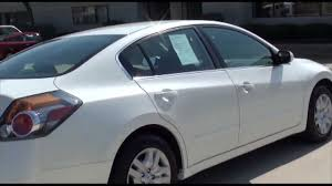 cars nissan altima 2010 nissan altima 2 5 s cvt sedan white excellence cars direct