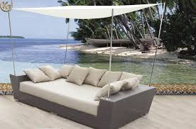 incredible outdoor furniture daybed aman dais 6 pc teak day bed