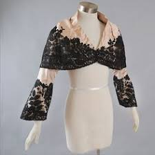 vintage 1930s lace shrug at free people clothing boutique