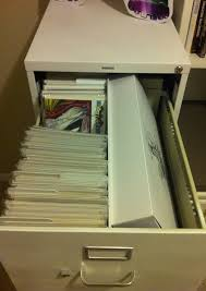 Legal Filing Cabinet Collecting Comics Using A Legal File Cabinet For Storage