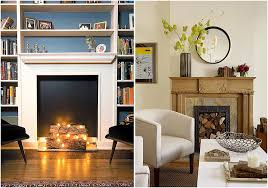 How To Finish A Fireplace - stunning fake fireplace pictures 17 in minimalist with fake