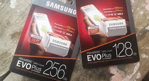 Memory Card Samsung 256gb review samsung microsdxc evo plus memory card