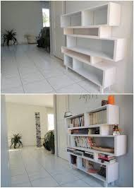 recycled wood pallets made bookshelf pallet wood projects