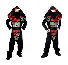 100 kids ninja halloween costume kids ninja hood throwing