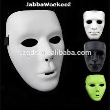 Anonymous Halloween Costume Wholesale Thick Thin Halloween Mask Male Female Jabbawockeez