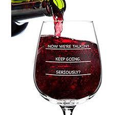 amazon com guzzle buddy wine bottle glass it turns your bottle