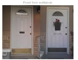 holly u0027s stamping addiction front door makeover