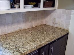 kitchen travertine backsplash backsplashes tags kitchens metallic