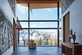 Mountain Home Interiors by Tour Architect Peter Marino U0027s Rocky Mountain Ski Retreat