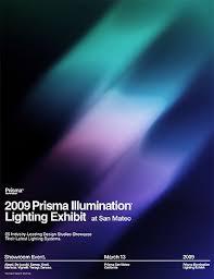 Prisma Lighting 2009 Prisma Illumination Lighting Exhibit Poster Network Osaka