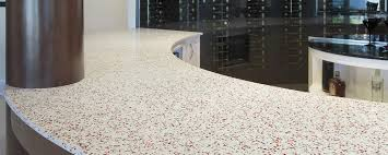 countertop material recycled glass surfaces and countertops geos by eos surfaces eos