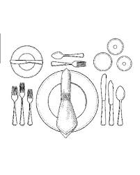 Fancy Place Setting How To Set A Formal Dinner Table Before The First Course