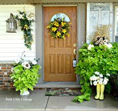 flower decoration in home fall back porch decorating ideas this makes that idolza
