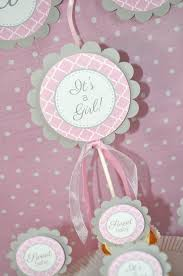 girls baby shower cake topper it u0027s a cake topper pink and