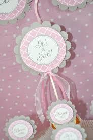 baby shower cake toppers girl baby shower cake topper it s a girl cake topper pink and