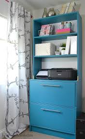 who says a can u0027t diy shelves and make an old filing cabinet