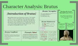 character analysis brutus by kaity moore on prezi