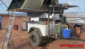 Building A Tent Platform Dinoot Trailer Building A Diy Off Road Explorer Off Road Com