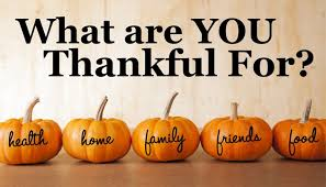 what are you thankful for health home family friends food