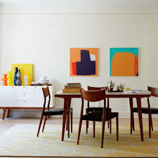 modern dining table west elm