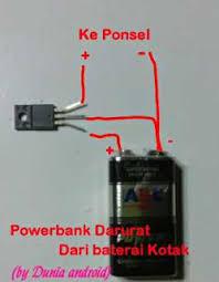 cara membuat powerbank menggunakan baterai abc cara buat powerbank darurat dari baterai kotak 9 volt dunia android