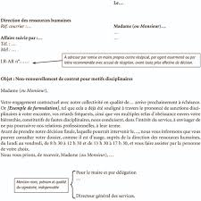 Annexe Iii Modèle D Arrêté Emportant Blâme Les Annexe Iii Modèle De Notification Avant Un Non Renouvellement De