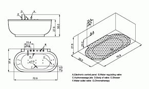 Deep Bathtubs Standard Size Standard Size Whirlpool Tub Eros 32 X 60 Whirlpool Bathtub Miami