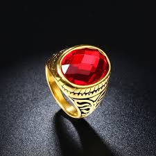 aliexpress buy new arrival fashion rings for men fashion new arrival gold color simple style aaa
