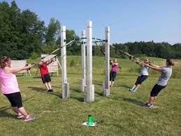 backyard obstacle course workout home outdoor decoration