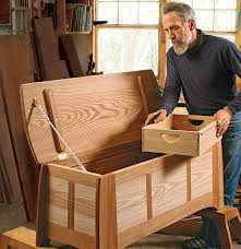 Fine Woodworking 230 Pdf by Early American Blanket Chest With Project Plans Finewoodworking
