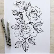 imagenes rosas tatoo rosas sketch pinterest tattoo piercings and tatting