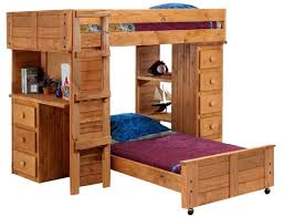 Twin Size Loft Bed With Desk by Twin Loft Bed With Desk And Storage Desk Underneath Underneath