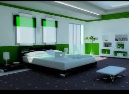 Dark Rug Beautiful Bedroom Interior White Bedding Two Toned Walls Dark Area