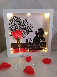 beauty and the beast light up rose disney inspired beauty and the beast enchanted rose light up 3d
