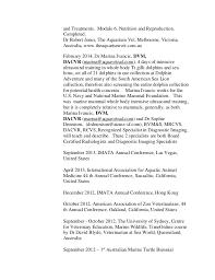 Resume For Veterinarian Kelly O U0027sullivan U0027s Resume