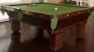 brunswick slate pool table the wellington an antique brunswick pool table