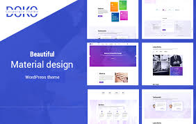 Material Design Ideas Material Design Wordpress Theme Doko Accesspress Themes