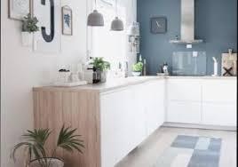 cuisine en bois blanc cuisine blanche et bois luxury deco cuisine blanc et bois gris